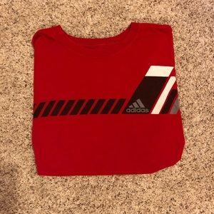 Adidas short sleeve shirt
